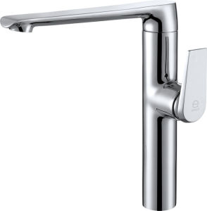Chrome Plating Single Lever Kitchen Faucet (YZ5325) pictures & photos