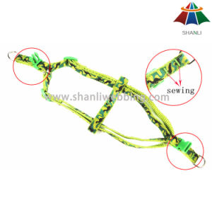 Hot-Sale High-Quality Printed 15mm Polyester/Nylon Leash & Adjustable Harness pictures & photos