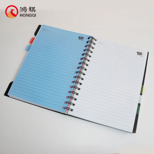 Black PP Cover Spiral Notebook pictures & photos