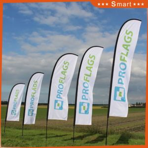 Polyester Feather Flag Promotional Usage Advertising Flag Banner pictures & photos