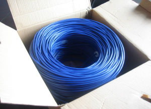 LAN Cable Cat3, 3 Twisted Pairs, PVC and Lsoh Jacket pictures & photos