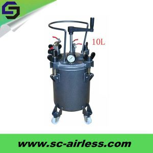 Hot Sale OEM 60L Pressure Paint Tank Automatic Type pictures & photos