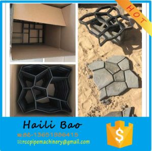 Interlock Tiles Concrete Plastic Moulds pictures & photos
