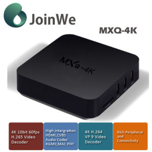 Media Player Android 5.1 Kodi Fully Loaded Rk3229 Mxq 4K Ott TV Box pictures & photos