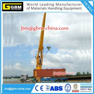 40t30m Hydraulic Electric Mobile Cargo Crane pictures & photos