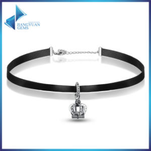 New Fashion Crown Charms Women Jewelry Chocker Necklace pictures & photos