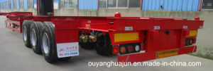 Skeleton Container Semitrailer with 2 Axles pictures & photos