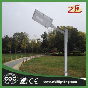 20-40W Automatic Power Adjustment LED Integrated Solar Street Light pictures & photos