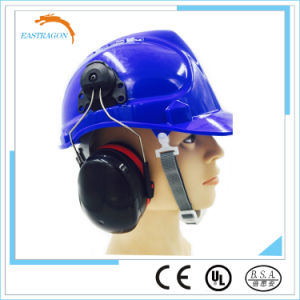 Safety Helmet with Electronic Ear Muff ANSI pictures & photos