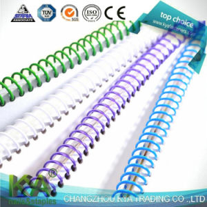 Plastic Spiral Wire Coil Binding for Office Binding Supplies and Stationery pictures & photos