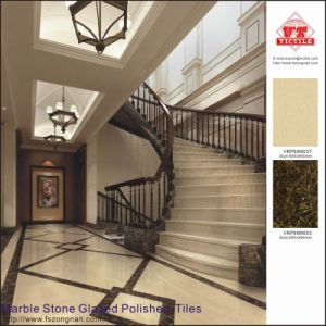 Marble Stone Glazed Polished Porcelain Floor Tiles (VRP69M037) pictures & photos