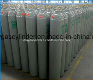 40liter Argon Gas Cylinder with Qf-2A VAL and Cap pictures & photos