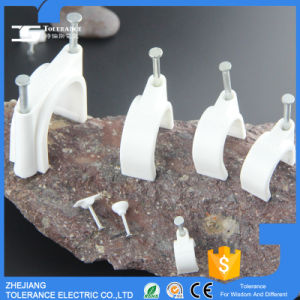 Cable Accessories Double Metal Cable Clip