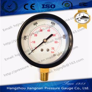 80mm General Air Pressure Gauge with Black Housing pictures & photos