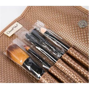 Portable 5 PCS Pounch Case Eyeshadow Kit Beauty Makeup Brush Set pictures & photos
