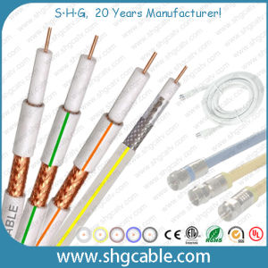 High Quality 75 Ohms Satellite TV Coaxial Cable Sat703 pictures & photos