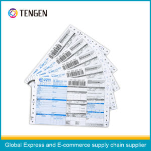 Courier NCR Paper Waybill with Tracking Barcode pictures & photos