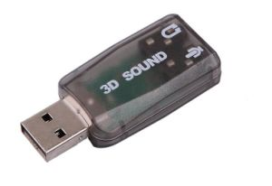 USB 5.1 Sound Card pictures & photos