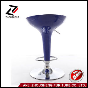 Wholesale Modern ABS Plastic Chromed Base Bar Stools Chair Zs-101 pictures & photos