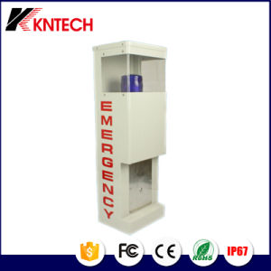 Emergency Light Tower Hood / Booth Knem-25 Cold-Roll Steel Sheets Phone Telephone Tower pictures & photos