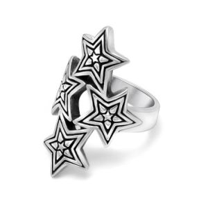 Star Overlap Men′s Ring Stainless steel Fashion Jewelry pictures & photos