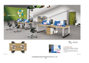 Modern Office Workstation Screen Partition (H90-0215) pictures & photos