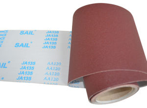 Machine Use Aluminum Oxide Emery Cloth Ja135 pictures & photos