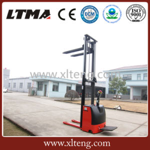 1.5 Ton 3m 4m 6m Lifting Height Electric Pallet Stacker pictures & photos