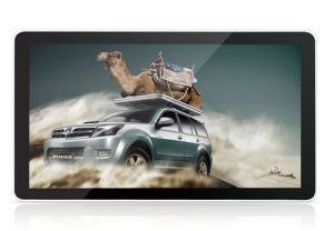 """Design with Alu Frame IP65 55"""" Touch Monitor with OPS Solution"""