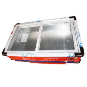 Sliding Glass Door Seafood Meat Showcase Freezer pictures & photos