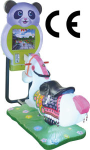 2D Mini Horse Coin-Operated Kiddie Ride Pace Ce Exciting Game Machine pictures & photos