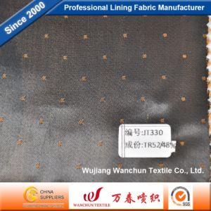 High Quality Polyester Viscose Dobby Lining Fabric for Lining Jt330 pictures & photos