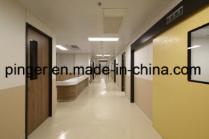 Hospital Vinyl Wall Covering Sheet with 1.5mm Thick pictures & photos