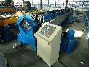 Punching Purlin C Z Shape Customized Roll Forming Machine pictures & photos