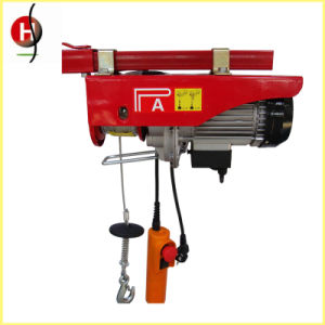 Inexpensive High-Quality PA Mini Wire Rope Electric Hoist pictures & photos