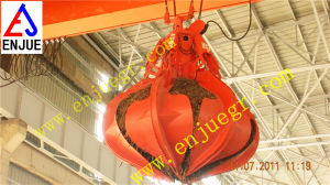 Hydraulic Orange Peel Garbage Grab Steel Scrap Grab Bucket pictures & photos