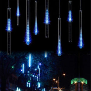 8PC/Set 240LEDs High Quality 2years Warranty Ce RoHS LED Christmas Meteor Shower Rain Tube Lights pictures & photos