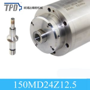 150mm Diameter 12.5kw Water Cooling Grinding CNC Router Spindle Motor pictures & photos