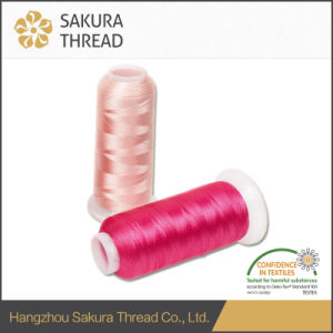 75D/2 Oeko-Tex100 1 Class Polyester Thread for Weaving pictures & photos
