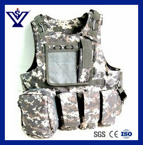 Acu Tactical Gear Paintball Combat Soft Safety Military Vest (SYSG-223) pictures & photos