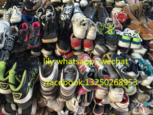 Used Shoes Wholesale for Africa Used Men Shoes, Used Women Shoes pictures & photos
