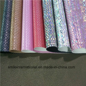 PU Artificial Leather for Shoes&High Quality pictures & photos
