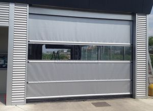 Industrial Fast Acting Rolling Door Performance Automatic High Speed Door pictures & photos