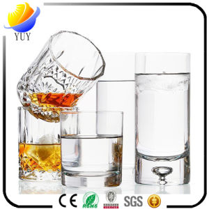 High Purified Delicate Design Drinking Glass Water Cup pictures & photos