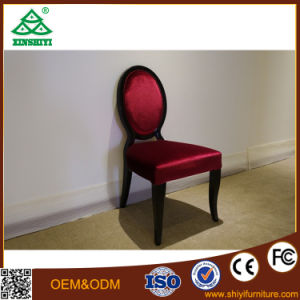 Deep Red Vanity Chair Single Chair for Bedroom Furniture pictures & photos