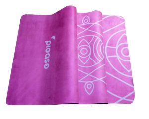 Natual Tree Rubber Yoga Mat with Custom Prinring Suede Antislip Mat pictures & photos