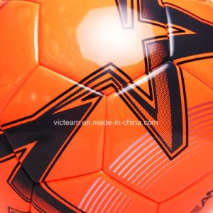 World-Class Custom Logo Micro Fiber Soccer Ball pictures & photos