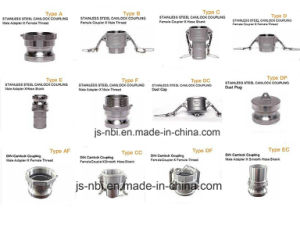 Different Types of Stainless Steel Camlock Coupling pictures & photos