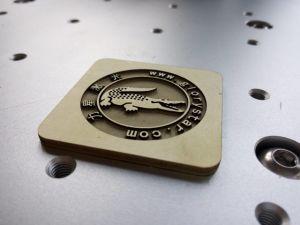 Dongguan Factory Fiber Metal laser Cutting with Good Effect of Cut Edge pictures & photos