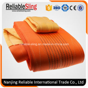 Polyester Flexible Twisted Eye Flat Webbing Sling pictures & photos